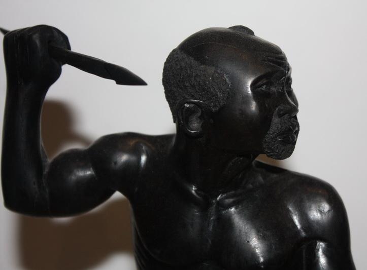 Воин статуэтка Дерево.