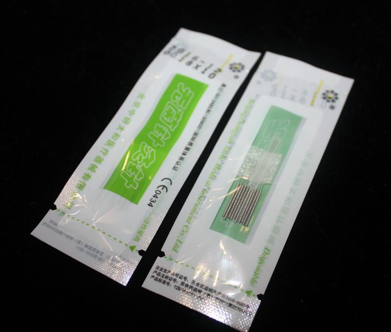 Иглы для акупунктуры - 0,18*10 мм. 500 игл в пачке ZHONGYAN TAINE